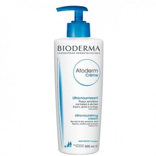 Bioderma Atoderm - Крем питательный и увлажняющий (500 мл)