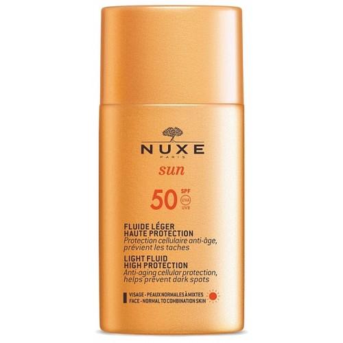 NUXE SUN Солнцезащитный крем-флюид  для лица SPF 50 (50 мл)