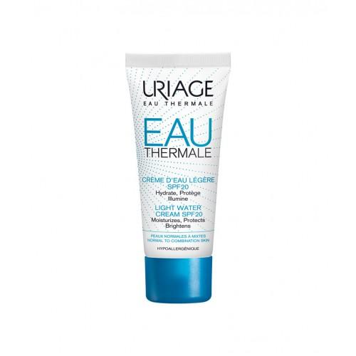 Uriage EAU Thermale Rich Water Cream spf 20-Крем для лица увлажняющий с термальной водой SPF 20 (40ml)