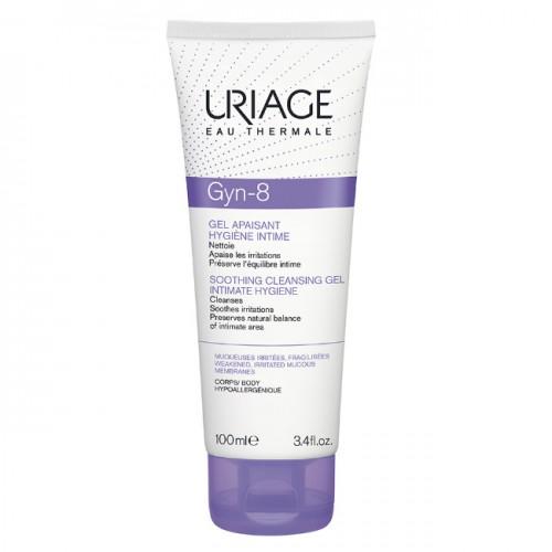 Uriage Gyn-8 - Успокаивающий гель для интимной гигиены (100мл)