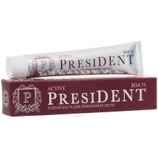 PRESIDENT Active зубная паста для проблемных десен (75 мл)