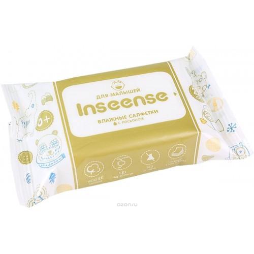 Inseense Салфетки влажные детские  с лосьоном (22 шт)