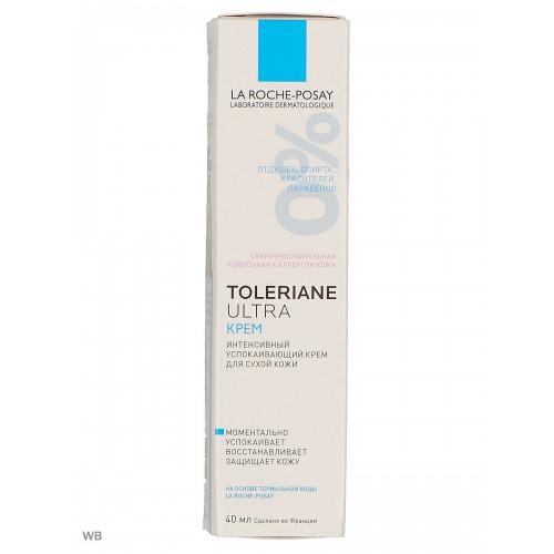 La Roche-Posay Toleriane Ultra - Крем для сверхчувствительной сухой кожи (40мл)