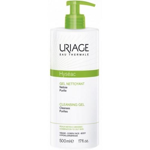 Uriage Hyseac Очищающий гель для комбинированной и жирной кожи (500 мл)