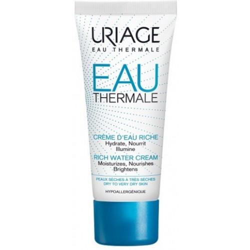 Uriage EAU Thermale Крем увлажняющий обогащенный с термальной водой (40ml)
