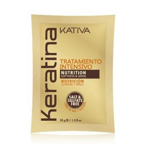 Kativa Keratina Маска с кератином для поврежденных и хрупких волос (35г)