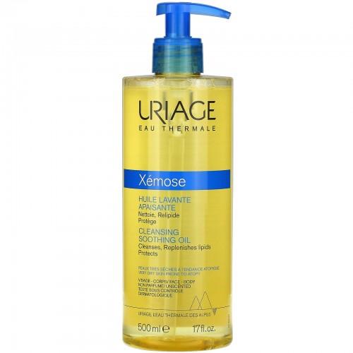 Uriage Xemose - Очищающее успокаивающее масло (500мл)