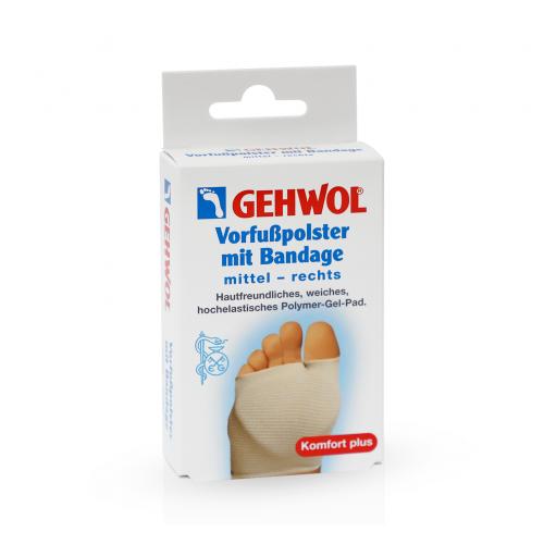 Gehwol Vorfubpolster mit Bandage - Накладка для стопы из трикотажа (бандаж) (1шт)
