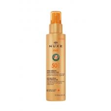 NUXE SUN Солнцезащитный спрей для лица и тела  SPF 50 (150 мл)