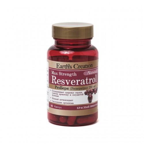 Resveratrol - РезБери для сердца (60 капсул)