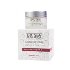 Dr. Sea Крем антивозрастной  для лица, глаз и шеи с экстрактами граната и имбиря SPF15 (50 мл)