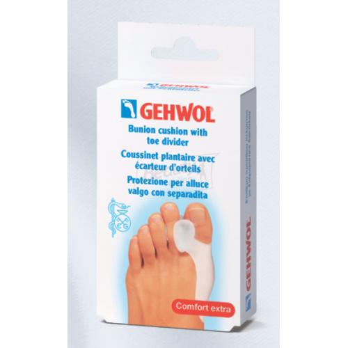 Gehwol Bunion cushion with toe divider - Гель-корректор 2 в 1,накладка на большой палец+разделитель(1шт)