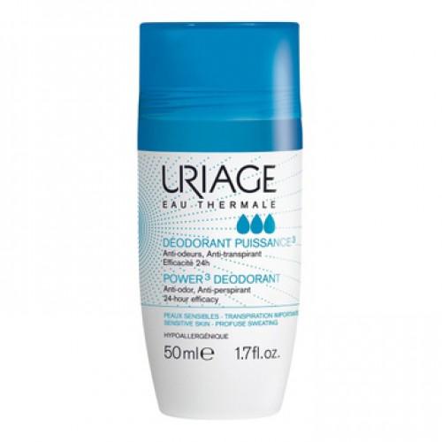 Uriage EAU Thermale Роликовый дезодорант  тройная сила (50ml)