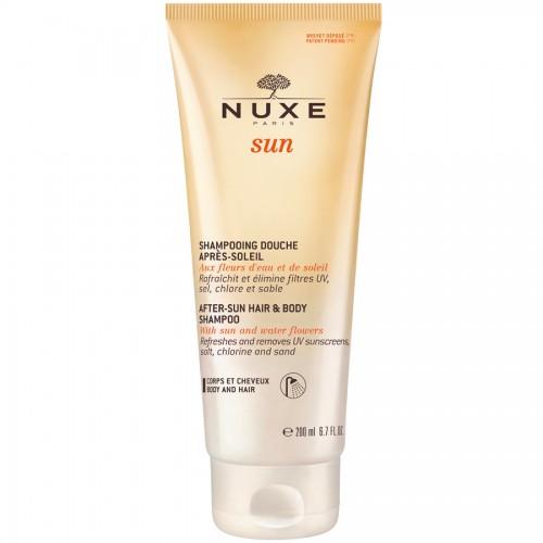 Nuxe Sun After-Sun Hair Гель-душ для волос и тела после солнца (200 мл)