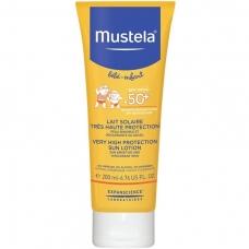 Mustela Солнцезащитное молочко с рождения SPF 50+ (200 мл)