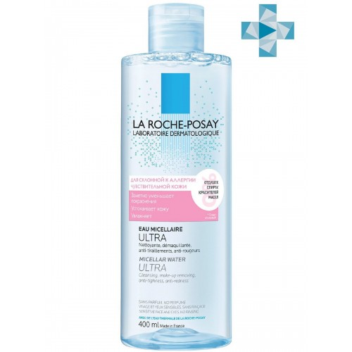 La Roche-Posay - Мицеллярная вода для кожи склонной к аллергии (400 мл)
