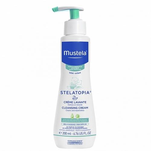 Mustela Stelatopia Крем для купания для атопичной кожи (200 мл)