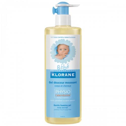 Klorane Гель нежный пенящийся  для волос и тела  (500мл)