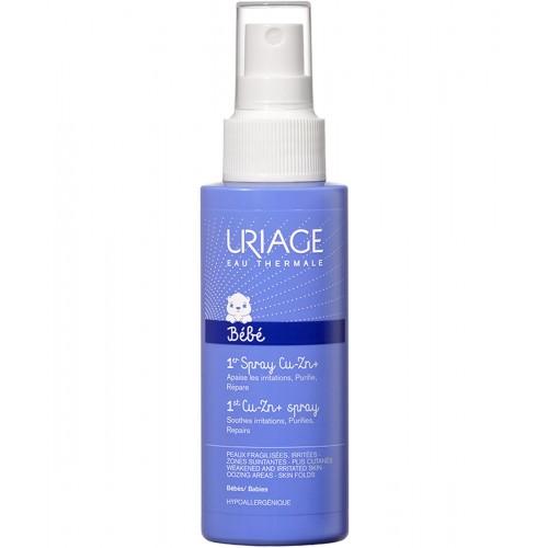 Uriage Bebe - Первый Cu-Zn cпрей против раздражения для детей (100 мл.)