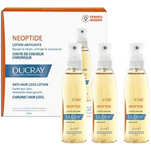 Ducray Neoptide Лосьон от хронического выпадения волос  для женщин (3*30 мл)