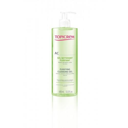 Topicrem AC гель очищающий оздоравливающий для проблемной кожи (400 мл)