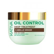 """Kativa Oil control Маска """"Контроль"""" интенсивный уход для жирных волос (250мл)"""