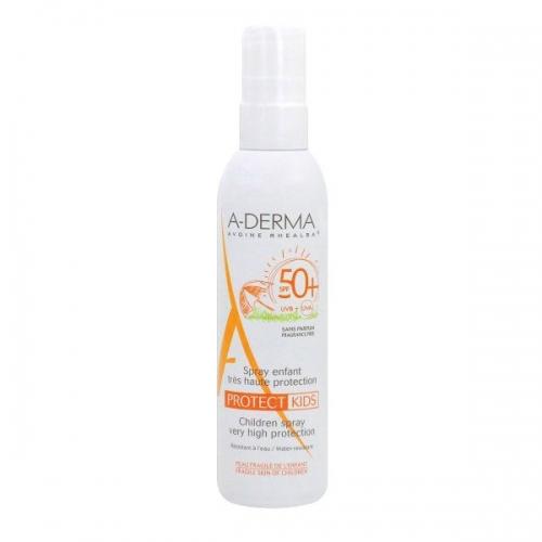 A-DERMA  Protect Kids Spray - Спрей детский солнцезащитный (200 мл)