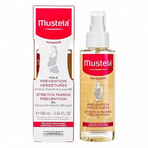 Mustela Масло для профилактики растяжек (105 мл)