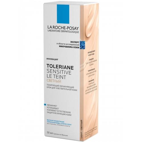 La Roche-Posay Toleriane Sensitive Le Teint (Светлый) - Тонирующий увлажняющий крем (50мл)