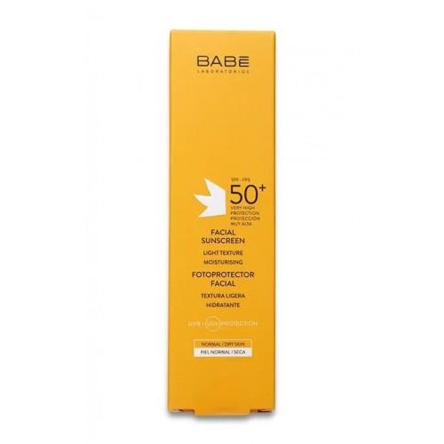 BABE Laboratorios - Fotoprotector - Солнцезащитный крем для лица с spf50 (50ml)