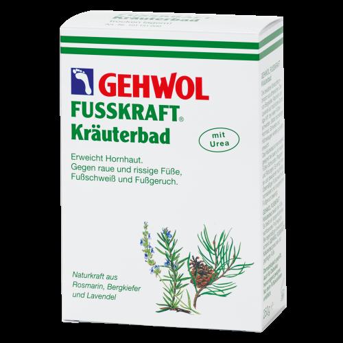 Gehwol Fusskraft Green(1*11520)-Травяная ванна для потливых ног (20г*10шт)