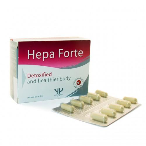 Hepa Forte-Восстановление клеток печени и очищение организма (30 капсул)