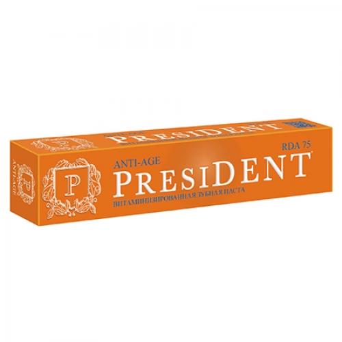 President Anti-age витаминизированная зубная паста (75мл)