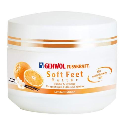 Gehwol Fusskraft Soft Feet Крем-масло для ног с ванилью и апельсином (50мл)