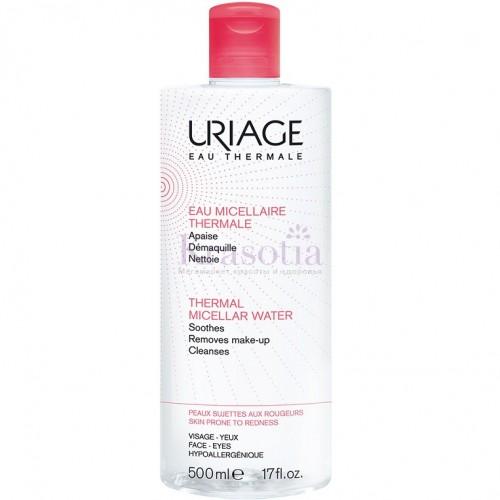 Uriage Tolederm - Мицеллярная вода для реактивной кожи (500мл)