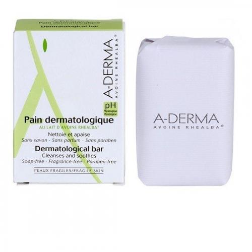 A-DERMA  Dermatological bar Мыло дерматокосметическое  (100 г)