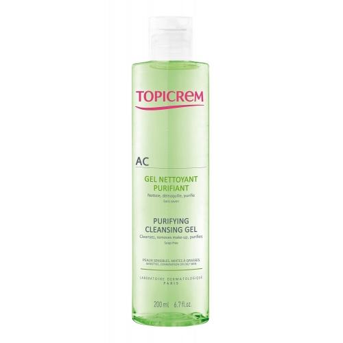 Topicrem AC гель очищающий оздоравливающий для проблемной кожи (200 мл)