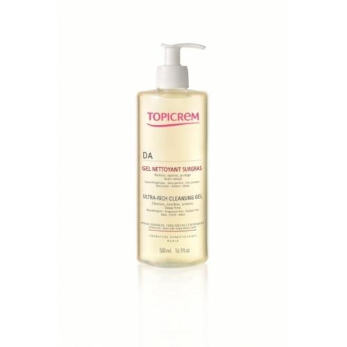 Topicrem AD Гель очищающий для атопичной кожи без мыла (500 мл)