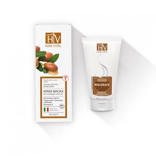 HAIR VITAL Argan nectar-Крем-маска увлажнение и защита от внешних факторов(150мл)