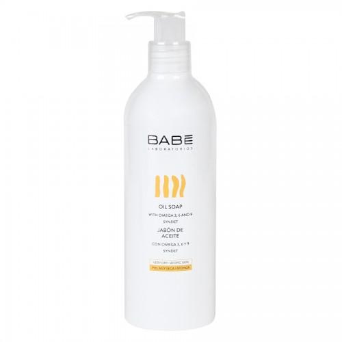 BABE Laboratorios Oil Soap - Мыло масляное для душа, для сухой кожи (500мл)