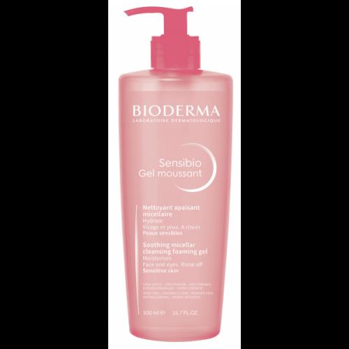 Bioderma Sensibio Гель-мусс очищающий для чувствительной кожи (500 мл)