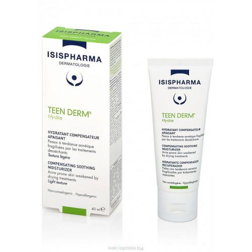 Isis Pharma Teen Derm Hydra - Увлажняющий и успокаивающий крем (40мл)