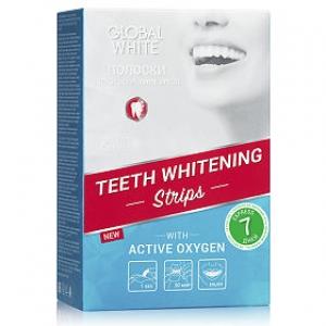 Global White Полоски отбеливающие для зубов