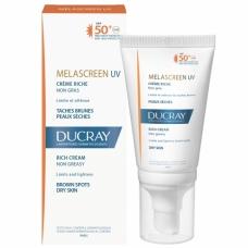 Ducray Melascreen Крем для сухой кожи фотозащитный SPF50+  (40 мл)