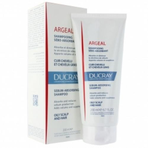 Ducray Argeal Шампунь себоабсорбирующий для жирных волос (150 мл)