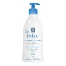 Biolane Гель 2 в 1 для тела и волос (350мл)
