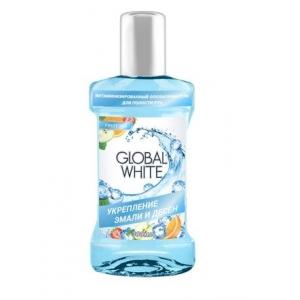 Global White Ополаскиватель витаминизированный для полости рта (300 мл)