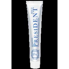 PRESIDENT Sensitive зубная паста для чувствительных зубов (75 мл)