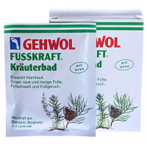 Gehwol Fusskraft Green Ванна Травяная при сильной потливости (20 г*10 шт)