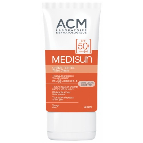 ACM Laboratoire Medisun - Солнцезащитный крем spf 100 с тоном (40ml)